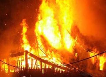 Kampus UKAW Kupang Terbakar