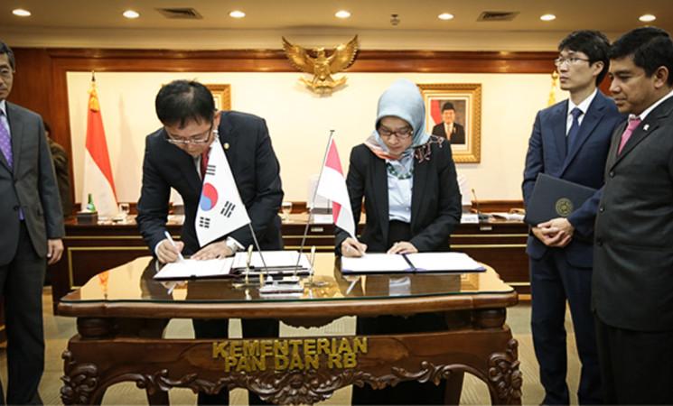 Indonesia – Korea Sepakat Bentuk Pusat Kerjasama E-Government