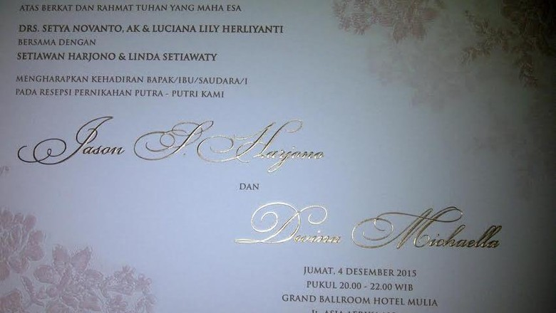 Nikahkan Putrinya, Novanto Undang Semua Pejabat Termasuk Sudirman Said