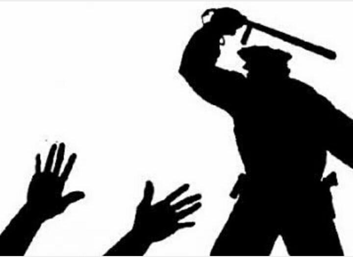 Bubarkan Sukacita Tahun Baru, Polisi Pukuli Warga