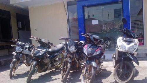 Polisi Gagalkan Penyelundupan Sepeda Motor Bodong ke Timor Leste