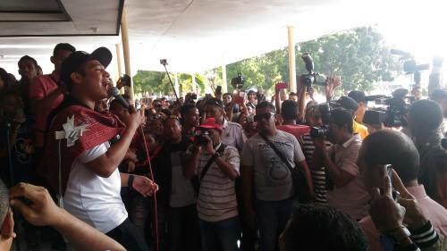 Mario Klau Hipnotis Ribuan Warga Kota Kupang
