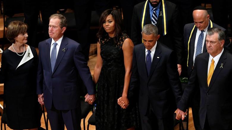 Obama Minta Rakyat AS Bersatu di Tengah Maraknya Penembakan Rasial