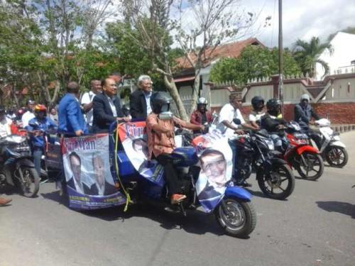 FirManMu Resmi Mendaftar di KPUD Kota Kupang