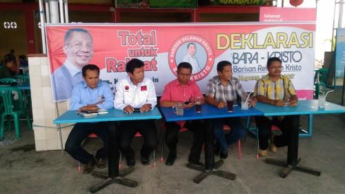 Barisan Relawan Kristo Blasin Siap Dideklarasi