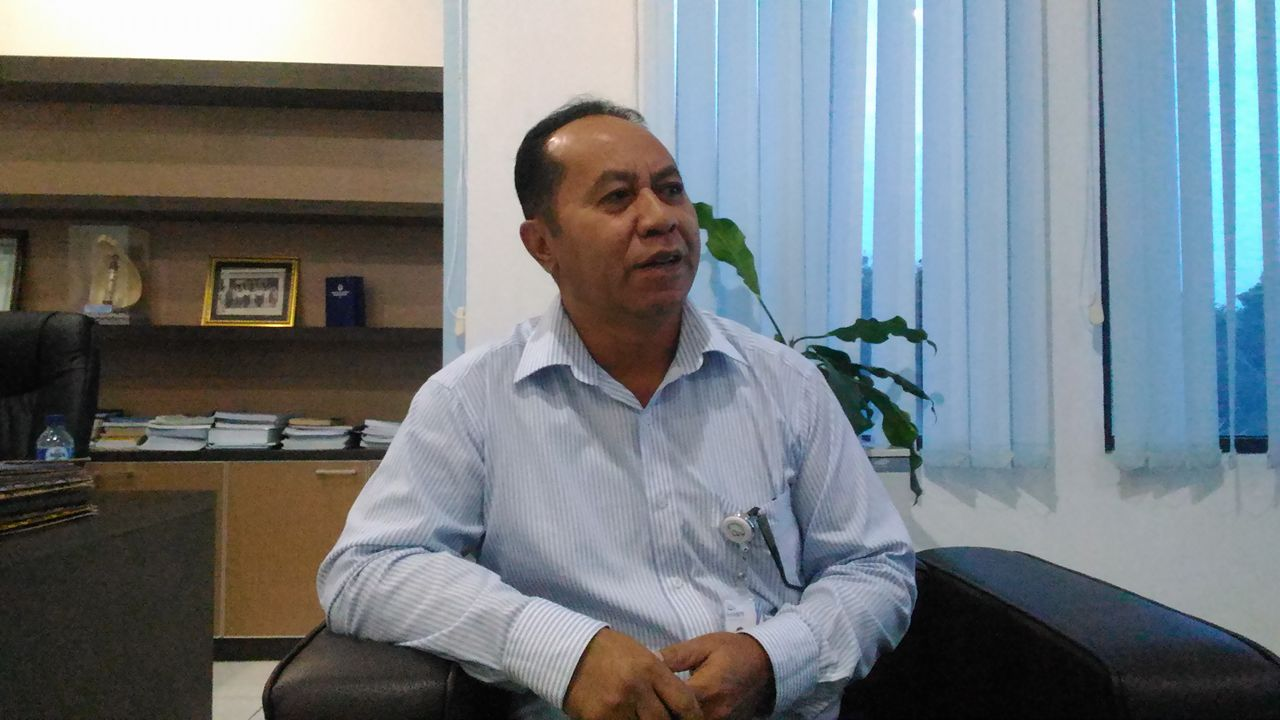 Kepala Bank NTT Cabang Ende, Frederikus Beghu. (ist)
