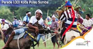 Hari Ini,  Gubernur Frans Lebu Raya Lepas 1001  Kuda Sumba di Waingapu
