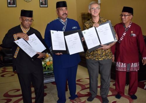 Kutai Kartanegara MoU dengan Tanoto Foundation Tingkatkan Mutu Pendidikan