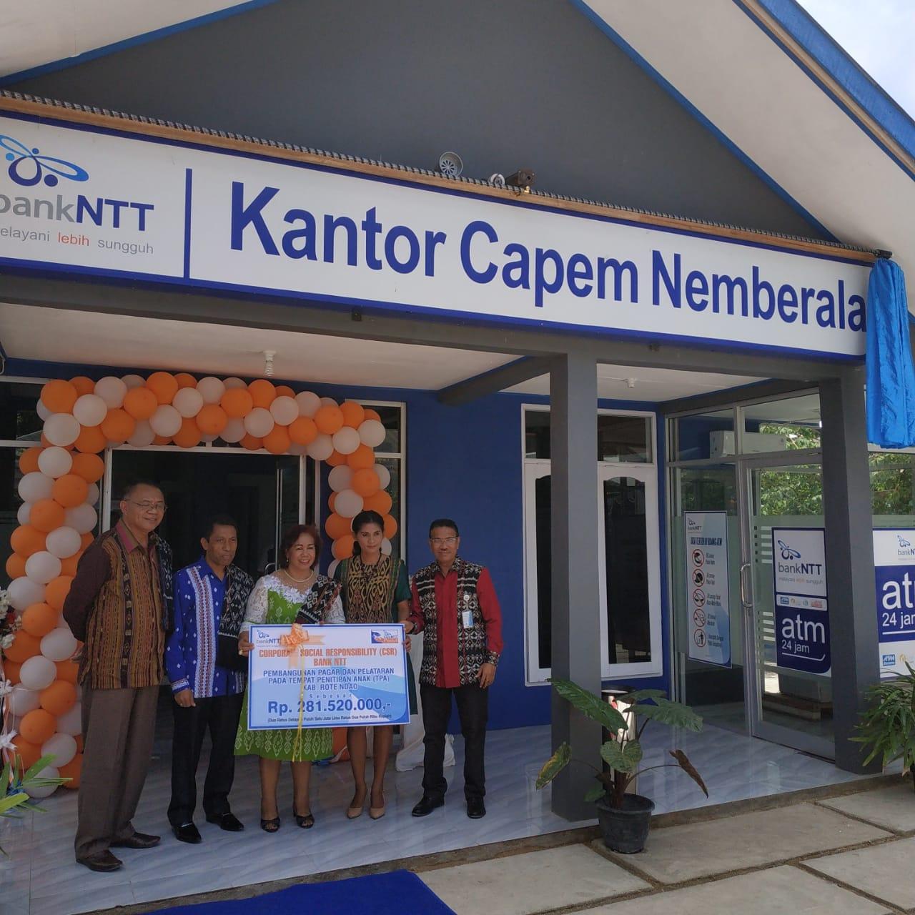 Ini Bentuk Dukungan Bank NTT untuk Pariwisata di Rote Ndao