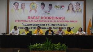 Golkar NTT Targetkan Kemenangan Jokowi-Ma'ruf 85 Persen
