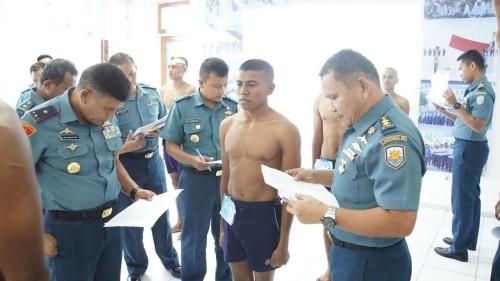 Lantamal VII Kupang Adakan Sidang Pantukhir Daerah Calon Prajurit Tamtama PK AL 2019