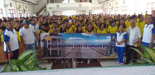 Promosi di Labuan Bajo, Unwar Siap Tingkatkan Kualitas dan Kuantitas Mahasiswa Indonesia Timur