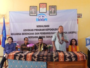 BKKBN dan Komisi IX DPR RI Sosialisasikan Keluarga Berencana