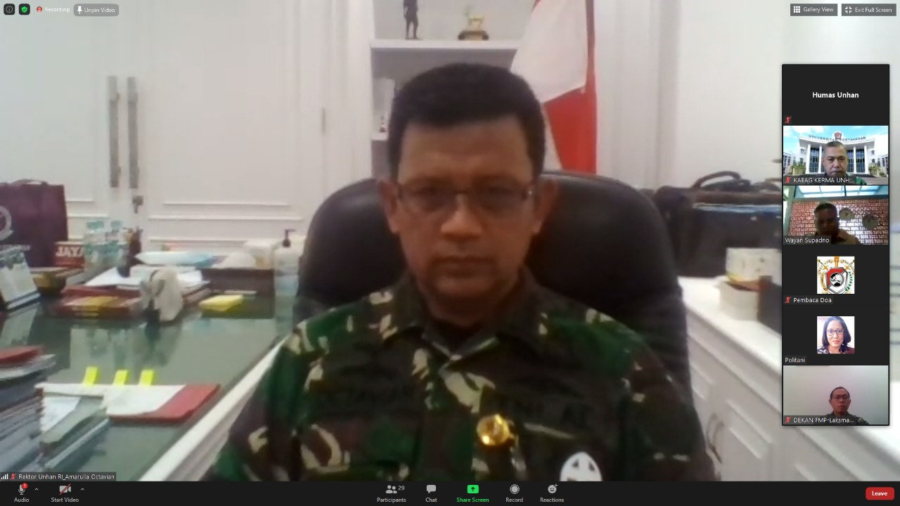 Persiapkan Politeknik Pertahanan di Belu, UNHAN Gandeng Dunia Usaha NTT