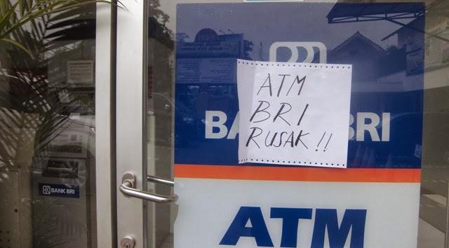 Nasabah BRI Kesal ATM Tak Berfungsi
