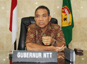 Gubernur NTT, Frans Lebu Raya