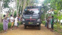Penutupan TMMD Desa Kuluan Diwarnai Isak Tangis