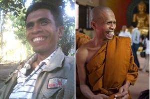 Inilah Donatus Lado Sogen, Bhikkhu Pertama Asal Flores
