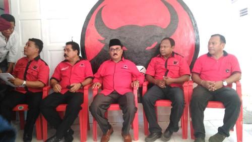 Tiga Legislator PDIP Kota Kupang Mendaftar Secara Bersamaan