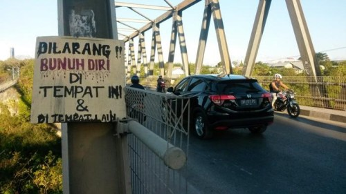 Aksi Percobaan Bunuh Diri Terjadi Lagi di Jembatan Liliba