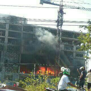 Sekolah Dian Harapan di Kompleks Lippo Plaza Kupang Terbakar