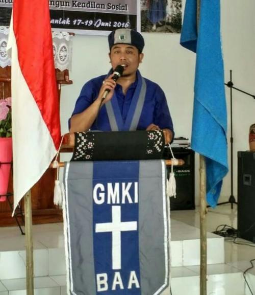 Fedry Boelan, Putra Asal Rote Kandidat Ketum GMKI Pusat