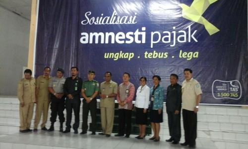 """Kepala KPP Pratama Ajak Masyarakat Manfaatkan """"Tax Amnesti"""""""