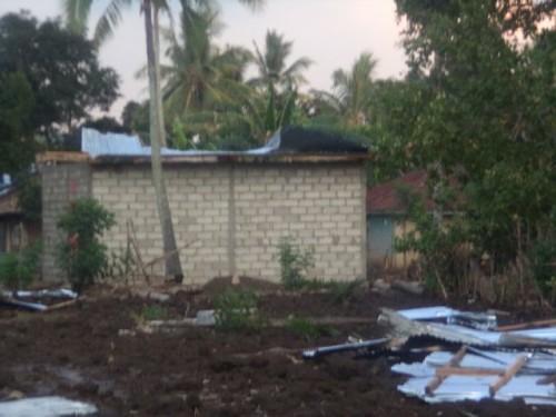 Lanaus Diterjang Hujan dan Angin Kencang, Rumah Warga Rusak Parah