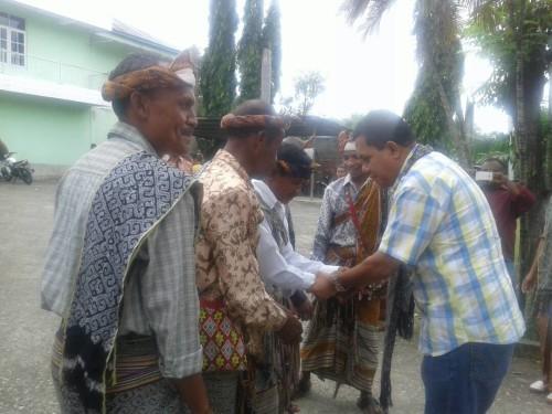 Tiga Raja Biinmafo Sambut Melki Laka Lena di TTU