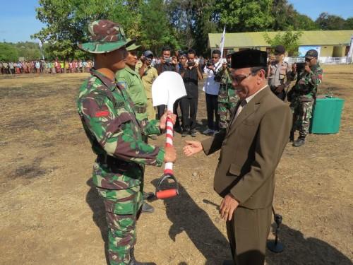 Wakil Bupati Kupang Buka TMMD Kodim 1604 Kupang Ke 99