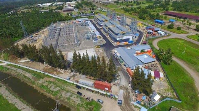 PLTMG dengan kapasitas 184 MW, di Lhokseumawe, Aceh, yang telah diresmikan Presiden Joko Widodo. (Ist)