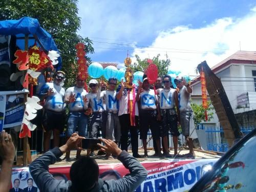 Nuansa Imlek Paket Harmoni dalam Deklarasi Kampanye Damai