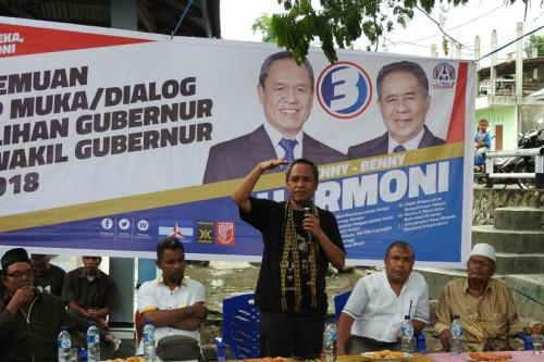 Benny K Harman Rela Gajinya Disumbangkan untuk Beasiswa