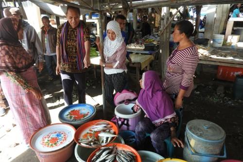 BKH Blusukan ke Pasar Pada, Lagi-lagi Modal Usaha jadi Keluhan