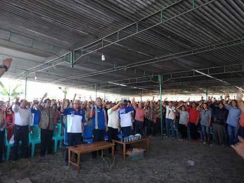 Cagub Benny K Harman Siap Jadikan Lembor Lumbung Beras NTT