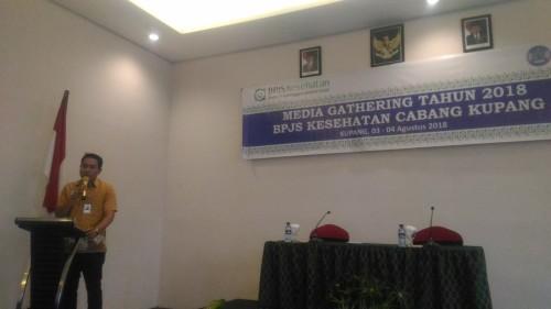 BPJS Kesehatan Cabang Kupang Gelar Kegiatan Media Gathering