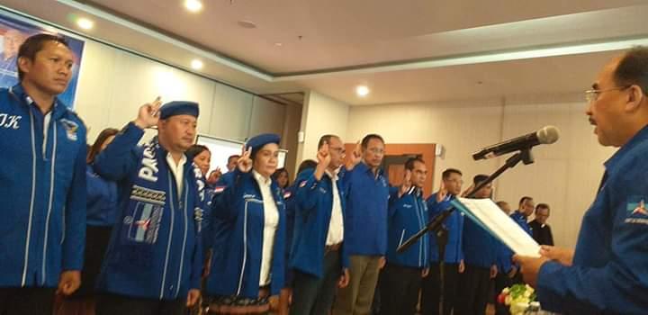 Herry Kadja Dahi Dilantik sebagai Ketua DPC Demokrat Kota Kupang