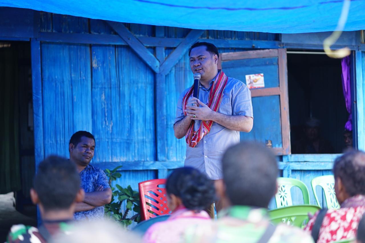 Jimmy Sianto Ajak Warga Mollo Utara dukung Program Gubernur NTT