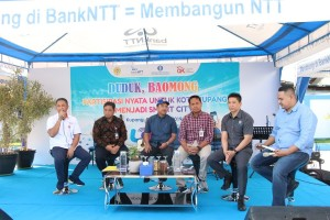 Smart Economy dari Bank NTT untuk Kupang Smart City