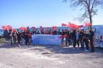 Persatuan Wanita Bank NTT SBD Bersihkan Kawasan Wisata Pantai
