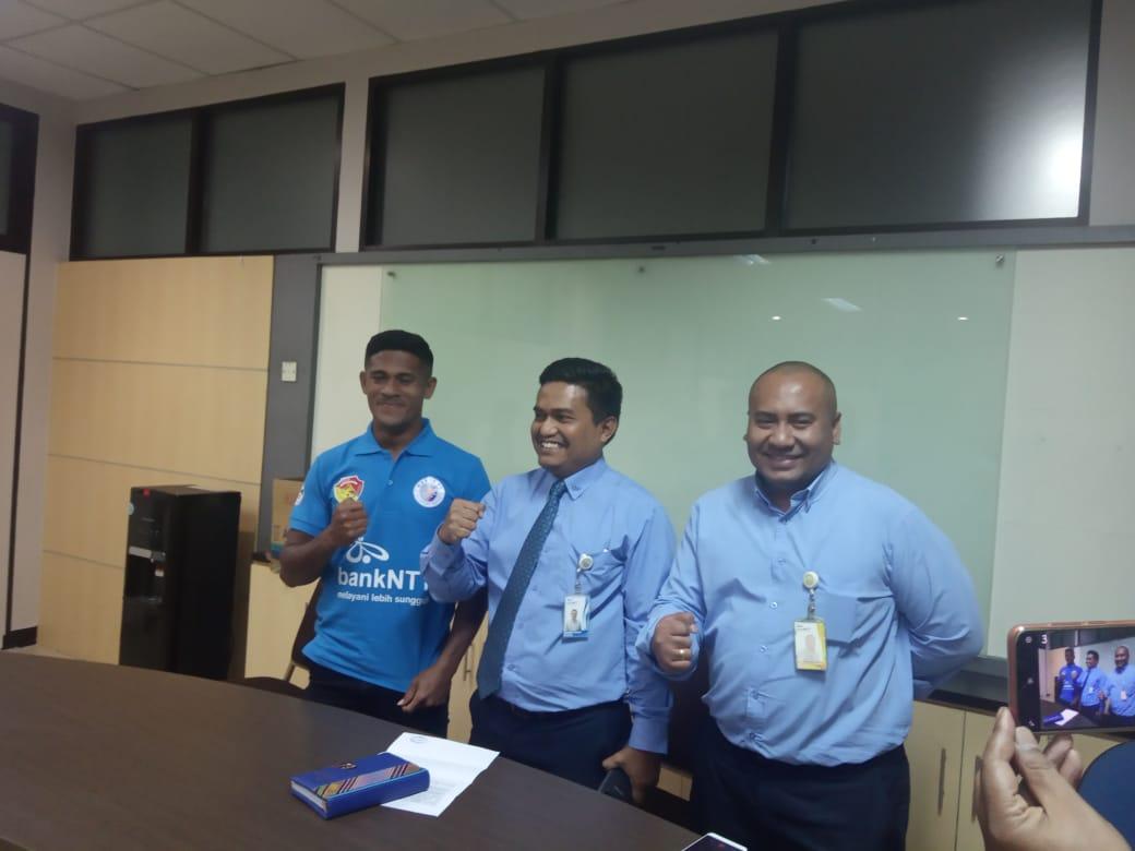 Tim Sepak Bola Bank NTT Ikut Kejuaran Gala Karya Tingkat Nasional