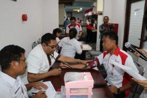 OJK NTT Kumpulkan 91 Kantong Darah