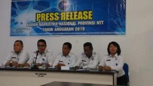 Sepanjang 2019, BNN NTT Telah Merehabilitasi 60 Pecandu Narkoba