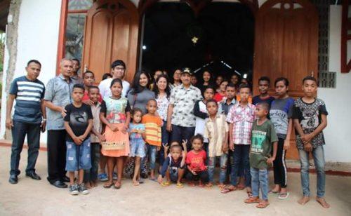 Jeriko dan Keluarga Kunjungi Sejumlah Panti Asuhan