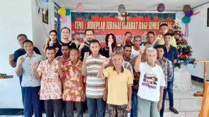 Perkumpulan Rote Bersatu Berbagi Kasih di LP Kelas III Ba'a