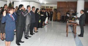 Ini Para Pejabat Struktural Eselon III dan IV yang Dilantik Wali Kota Kupang