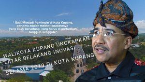 Penjelasan Wali Kota Jeriko dalam Video Inovasi Pemkot Kupang 2019