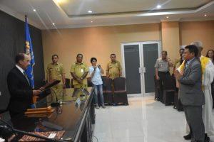 Wali Kota Kupang Lantik I Wayan Ari Wijana sebagai Kepala Bapenda