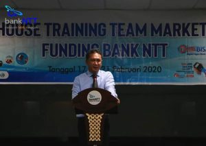 Bank NTT Perkuat Tim Marketing Lewat 'In House Training'