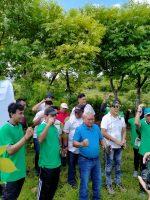 PT Jasa Raharja NTT Tanam 500 Anakan Pohon Mahoni dan Treembesi